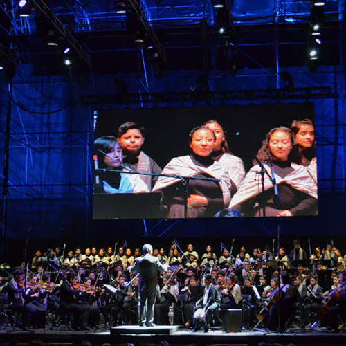 """Orquesta Sinfónica Infantil y Juvenil """"Vientos Musicales"""""""