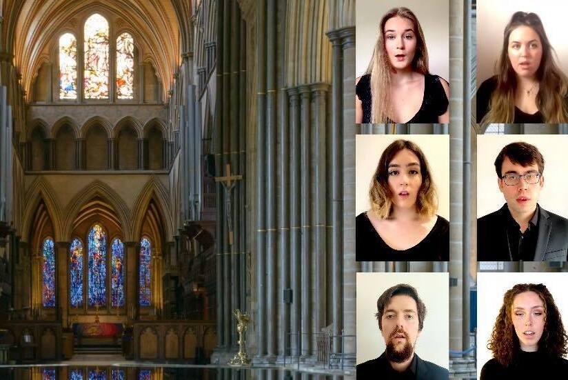 Una iglesia con eco de nueve segundos, la influencia africanay los coros en medio de la pandemia que miran hacia el futuro digital...