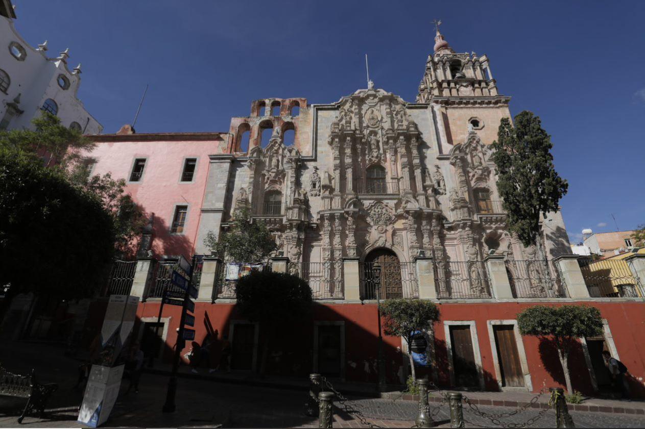 Galería el Atrio. Universidad de Guanajuato